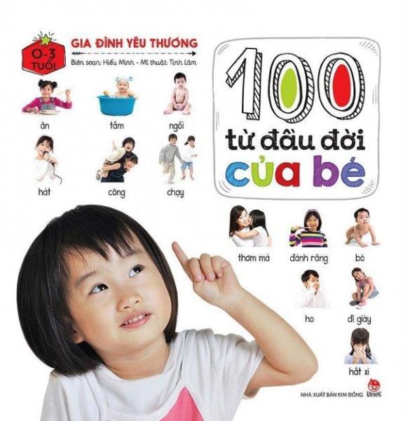 Mua 100 Từ Đầu Đời Của Bé - Gia Đình Yêu Thương (0-3 Tuổi)