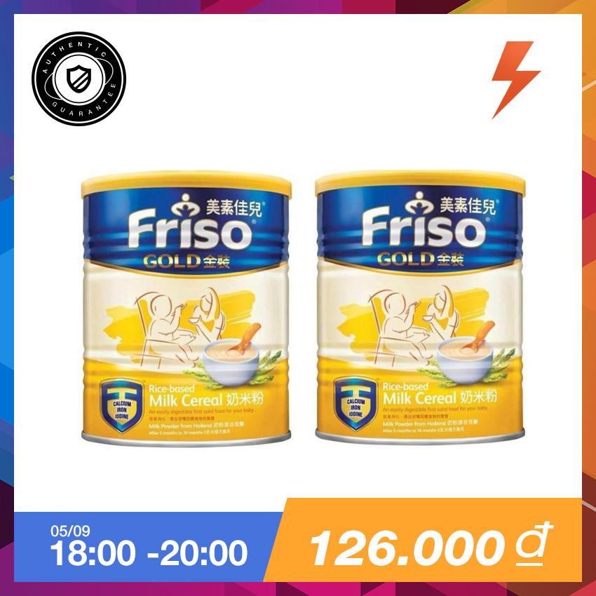 Bộ 2 Lon Bột Ăn Dặm Friso Gold 300Gr Friso Rẻ Trong Vietnam