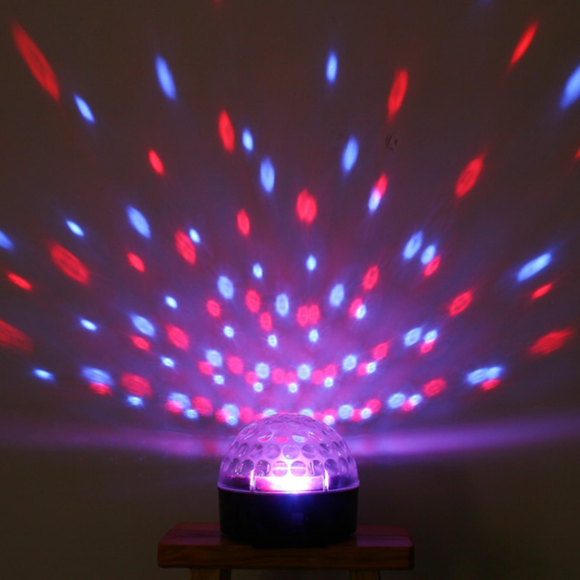 Đèn Led sân khấu cảm ứng nhảy theo nhạc + Remote + USB