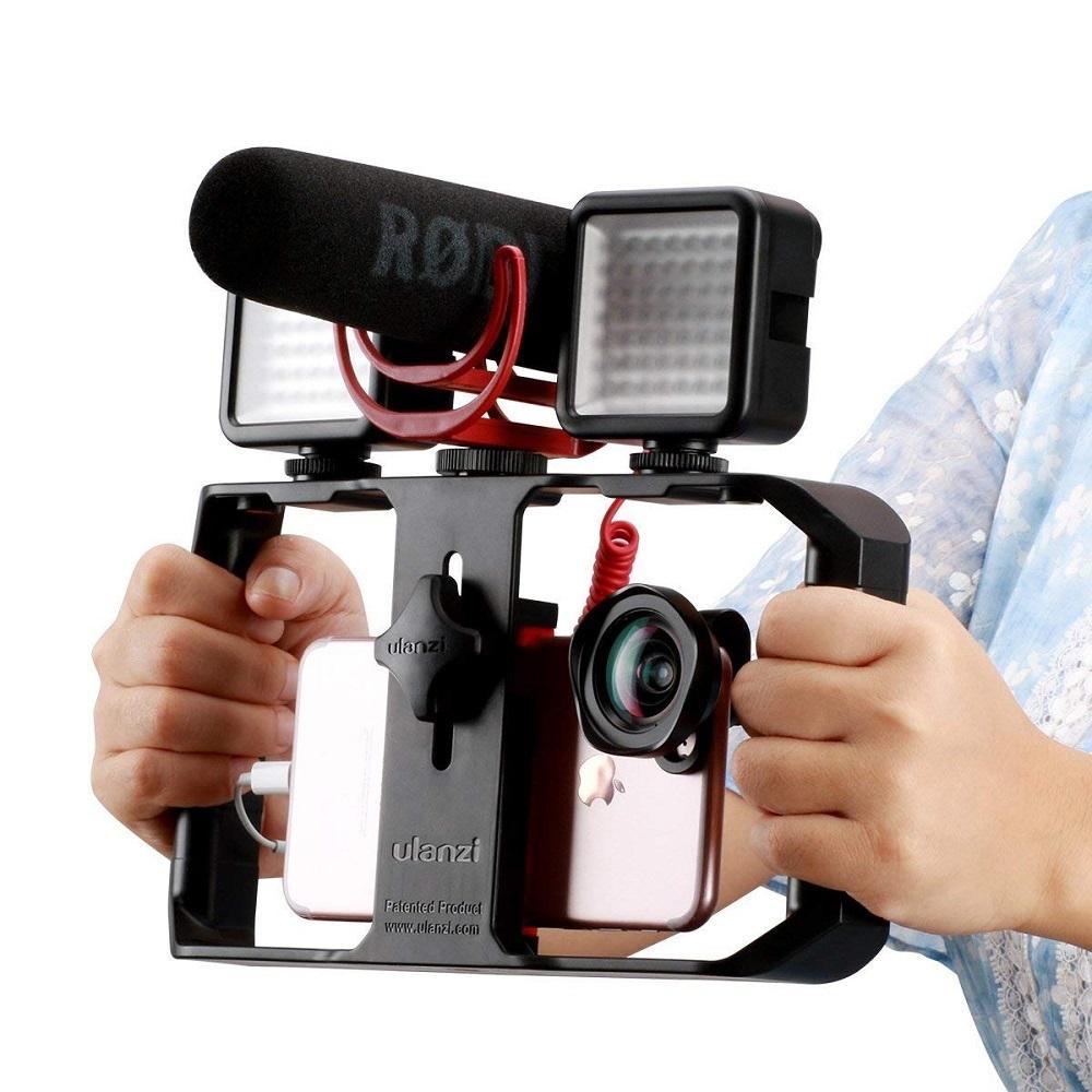Hình ảnh Tay cầm chống rung cho điện thoại Ulanzi U-rig Pro - Hàng công ty