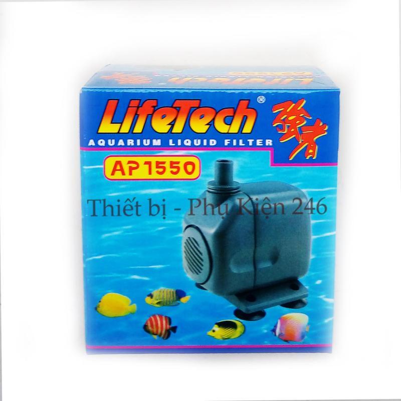 Máy Bơm Nước Hồ Cá LifeTech AP1550 - Máy Bơm Nước Bể Cá Cảnh Cao Cấp
