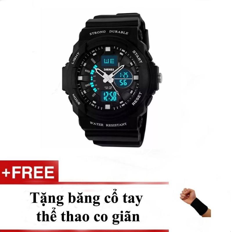 Nơi bán Đồng Hồ Trẻ Em Thể Thao Skmei 1061 + tặng băng cổ tay