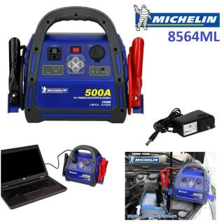 Bộ Kích Nổ Ô Tô Cao Cấp Michelin 8564ML 500Amp Phát Điện 220V 100W - Bộ Kích Bình Ắc Quy thumbnail