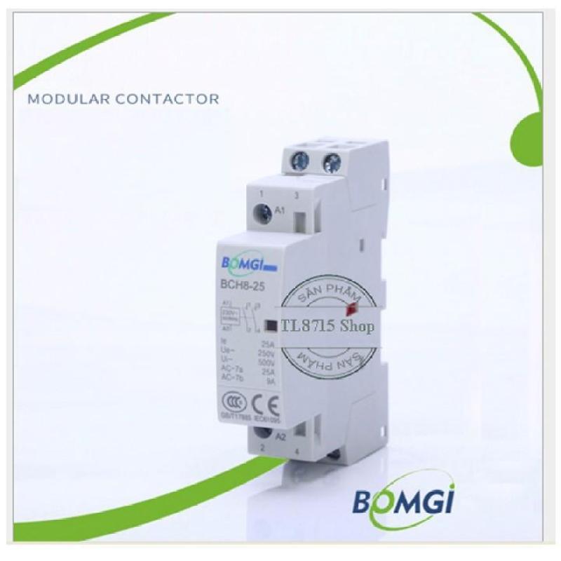 Khởi động từ contactor 20A/220v lắp ray cài át tủ điện