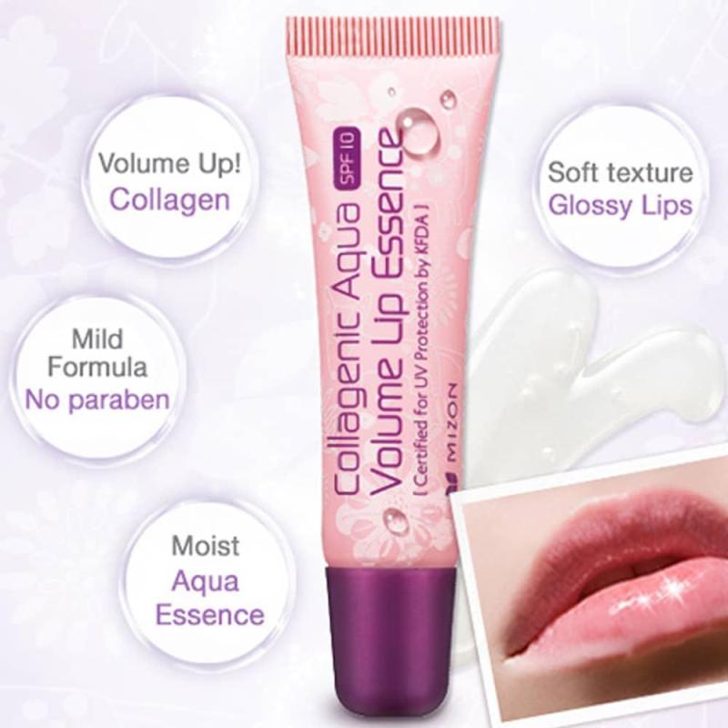 Tinh chất dưỡng môi Mizon Collagen Aqua Volume Lip Essence 10ml cao cấp