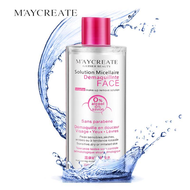 Nước tẩy trang dịu nhẹ Maycreate làm sạch sâu 300ml