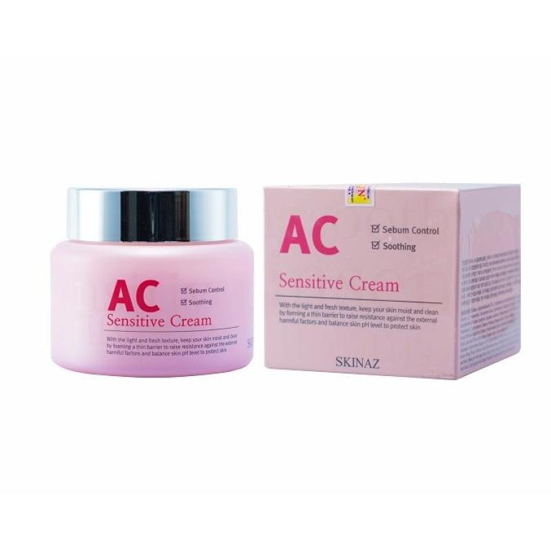 Kem Dưỡng Da Cao Cấp  AC Sensitive Cream SKINAZ Hàn Quốc