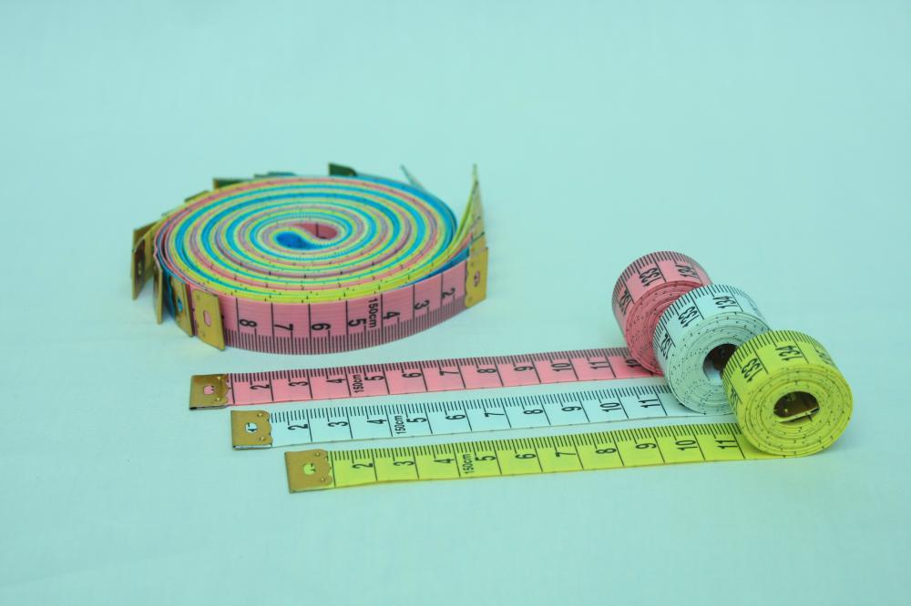 Mua Thước dây may đo quần áo, đo chiều cao, chiều dài, chất liệu tốt.