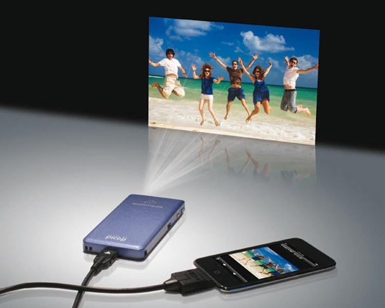Bảng giá Máy chiếu (Projector) mini bỏ túi (Độ nét cao) tiện giải trí hoặc làm việc (Hàng VIP của Agiadep) Điện máy Pico