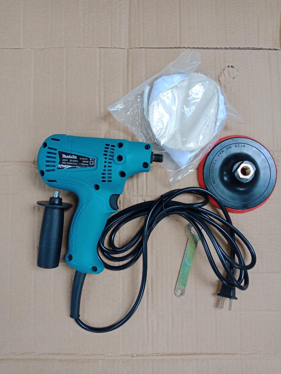 Máy đánh bóng ô tô Makita GV6010-1  máy đáng bóng giá re