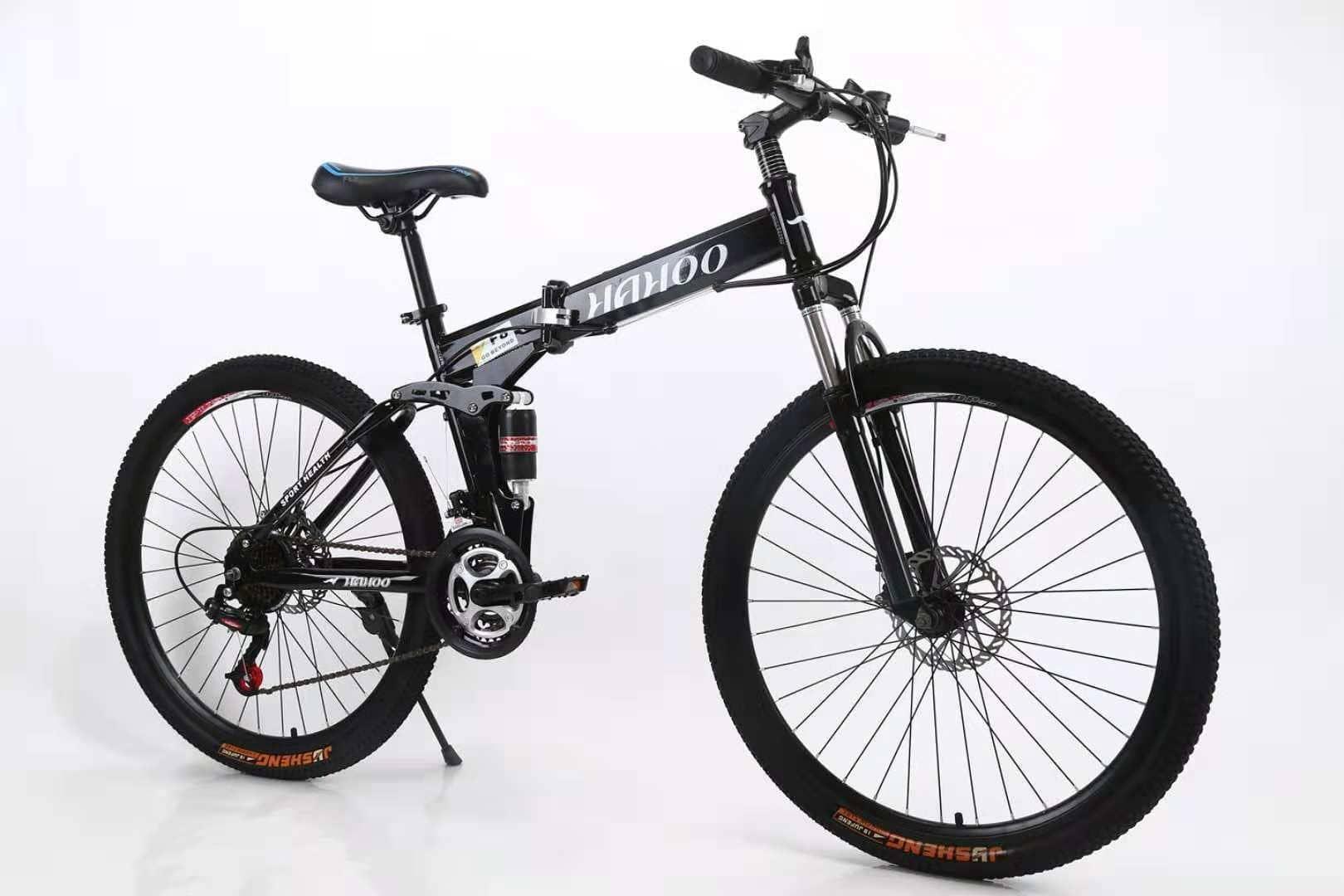 Xe đạp địa hình gấp HaHoo (Bánh căm)