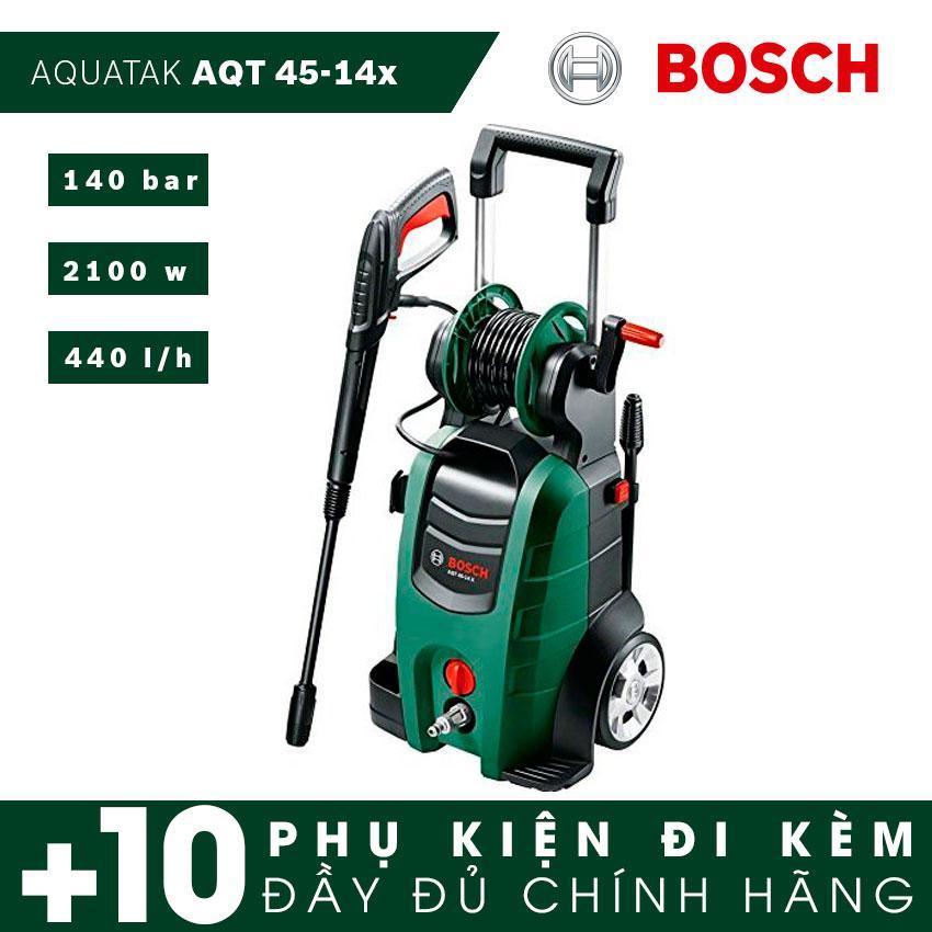 Máy phun xịt áp lực cao Bosch AQT 45-14X (2100W)