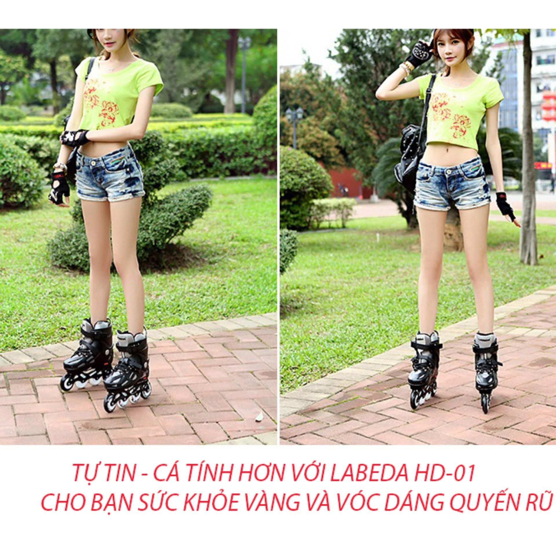 Giày patin tại đà nẵng, Giày patin LABEDA HD-01 cao cấp, phù hợp với mọi lứa tuổi yêu thích thể thao Sản phẩm bán chạy - Bảo hành uy tín bởi Clcik - Buy