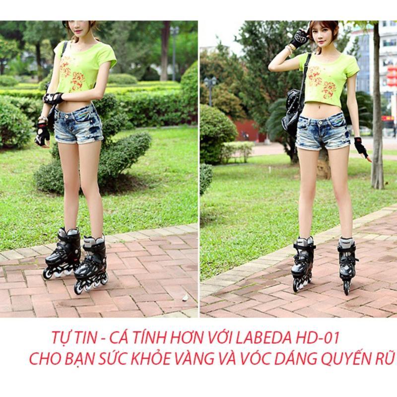 Phân phối Giày patin tại đà nẵng, Giày patin LABEDA HD-01 cao cấp, phù hợp với mọi lứa tuổi yêu thích thể thao Sản phẩm bán chạy - Bảo hành uy tín bởi Clcik - Buy