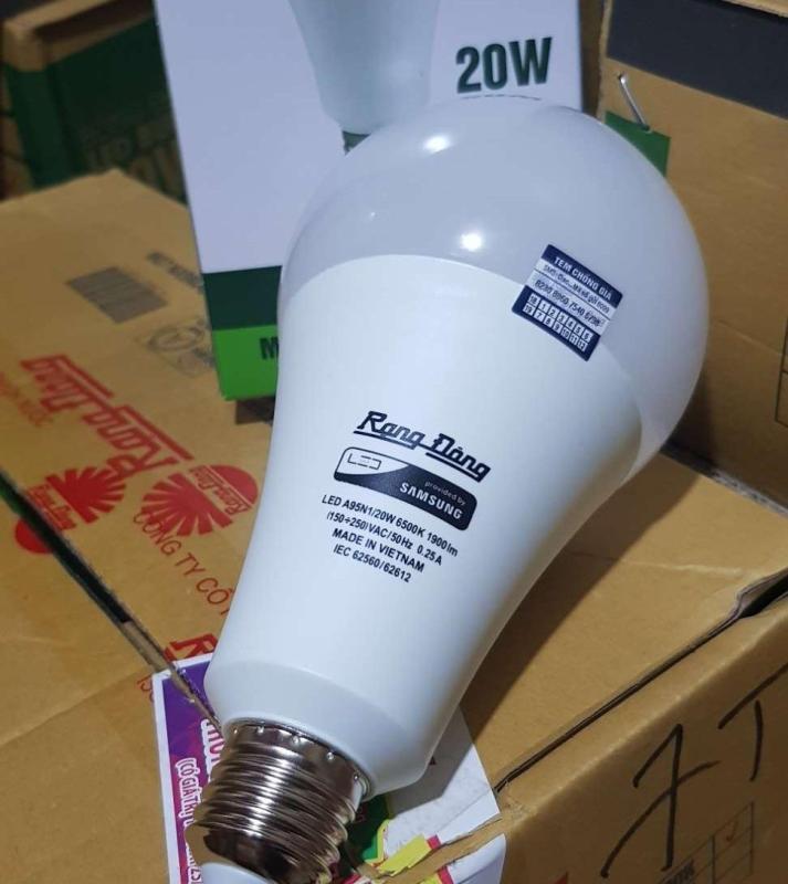 Bóng đèn LED BULB Tròn 20W Rạng Đông LED A95N1/20W
