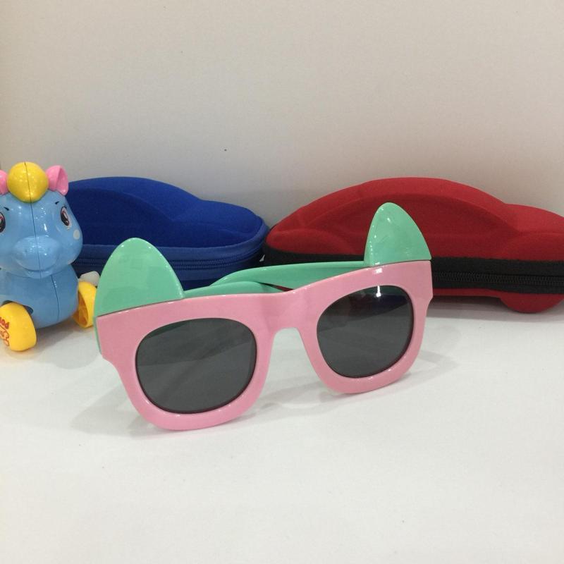 Giá bán [LƯU Ý] Kính thỏ hồng xinh xắn cho bé gái, chống tia UV, đang sale cực mạnh B155-43 + Tặng hộp đựng cao cấp