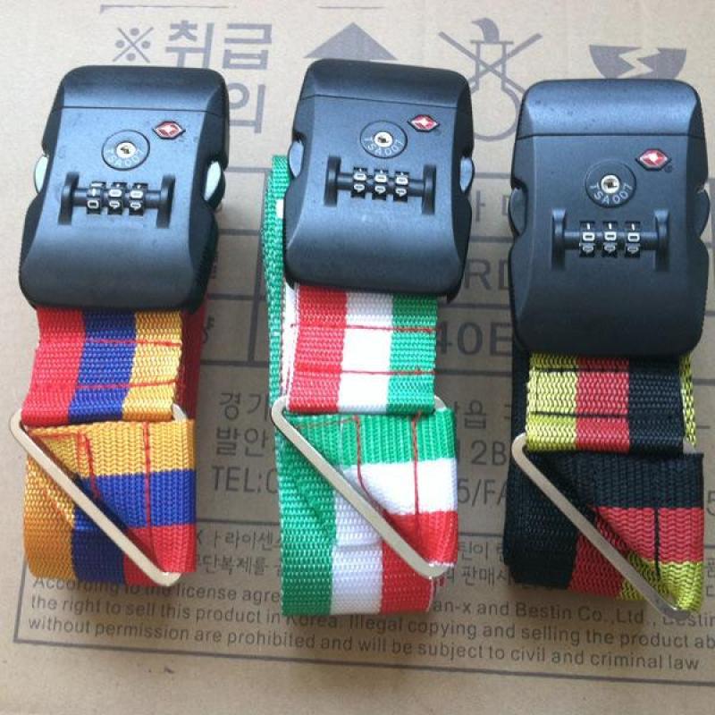 Bộ 3 dây đai khóa số cho vali du lịch