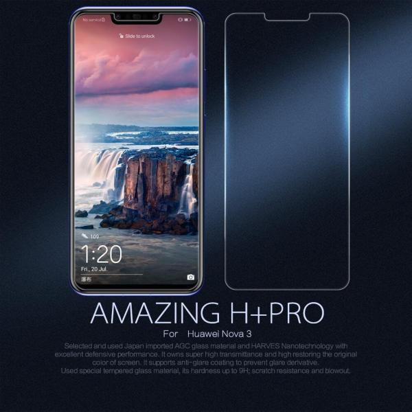Kính cường lực Huawei Nova 3/ Nova 3i (Trong Suốt)