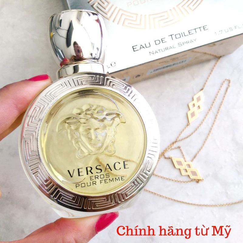 Nước hoa mini nữ Versace Eros  5ml