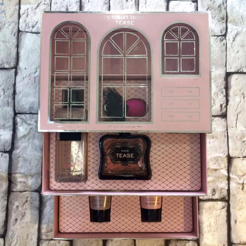 Bộ nước hoa Victoria's Secret Noir Tease ( 2 Tầng )