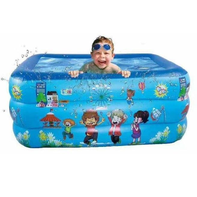 Bể bơi 3 tầng trẻ em