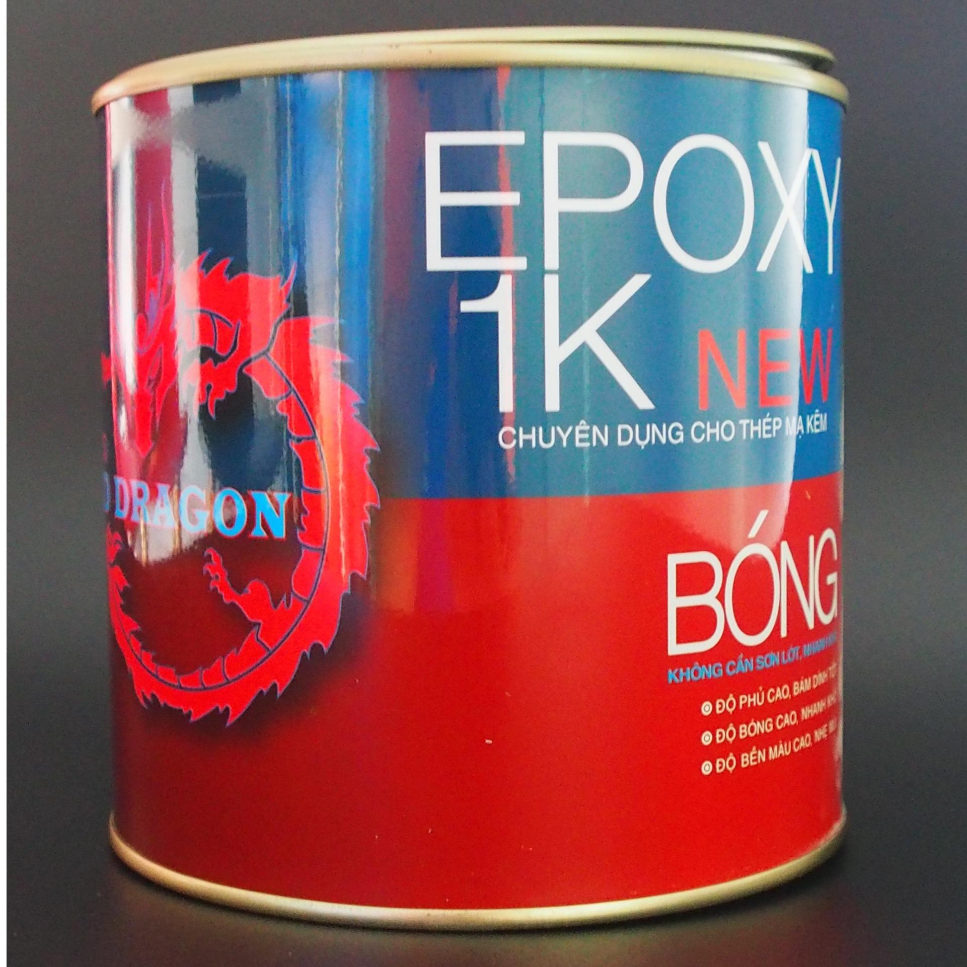 Hình ảnh SƠN SẮT MẠ KẼM 1 THÀNH PHẦN EPOXY 1K NEW RED DRAGON