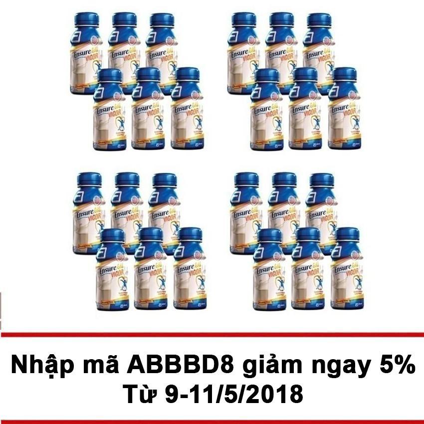 Thung 24 Sữa Nước Ensure Gold Vigor 237Ml Chiết Khấu Hồ Chí Minh