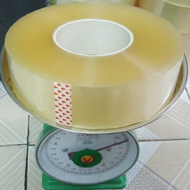Mua Cây 6 Cuộn Băng Dính (Băng Keo) Cuộn Lớn 800Gr Lõi mỏng 5mm (Tặng Lưỡi Dorco)
