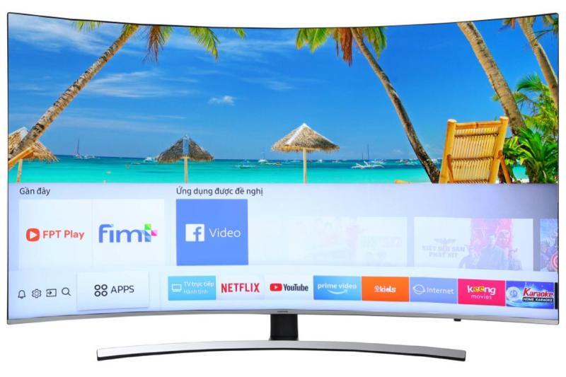 Bảng giá Smart Tivi Cong Samsung 4K 55 inch UA55NU8500 Mới 2018