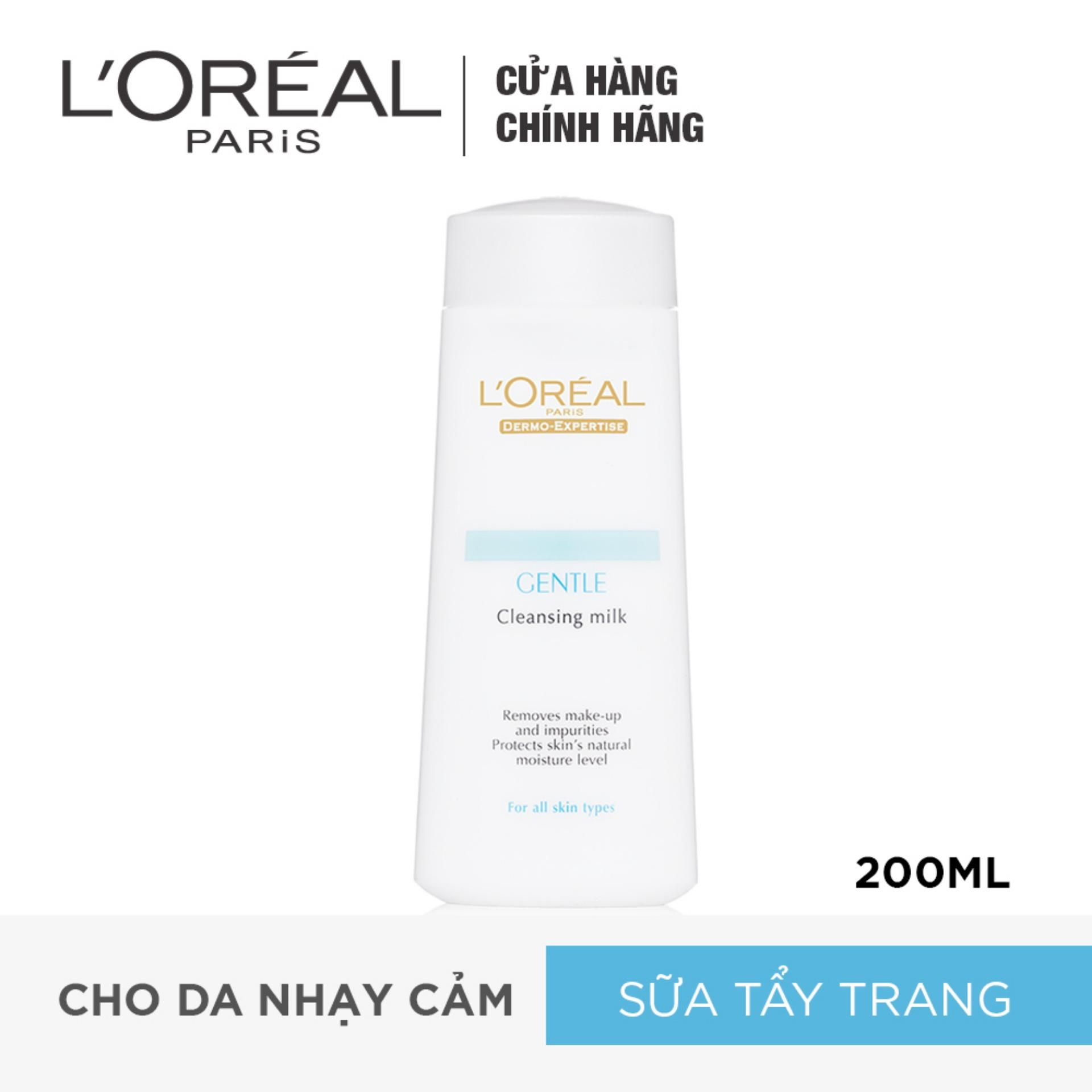 Sữa tẩy trang LORÉAL Dermo Expertise Gentle Cleansing Milk 200ml
