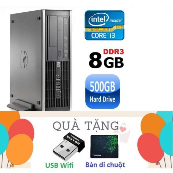 Bảng giá Máy tính đồng bộ HP Elite 8200 SFF ( CPU i3 2100 / 8G / 500G ) Tặng USB Wifi ,Bàn di chuột - Hàng Nhập Khẩu Phong Vũ