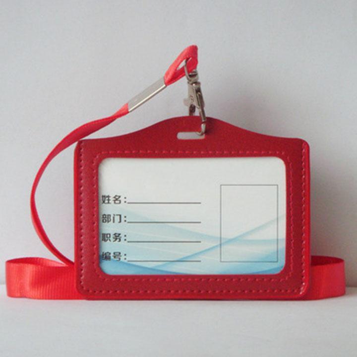 Mua Bao đựng thẻ xe bus, thẻ nhân viên cao cấp TẶNG kèm dây đeo