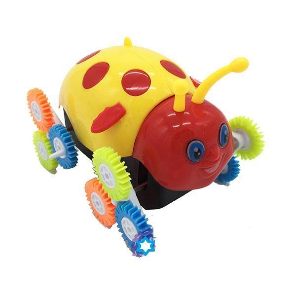 Hình ảnh Hộp đồ chơi xe bọ cánh cam nhào lộn 12 bánh lật chạy pin