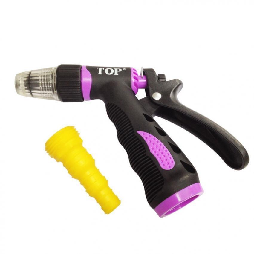 Vòi xịt tưới cây, rửa xe 1 tia (3 kiểu phun) TOP (không kèm dây) - FA-5503