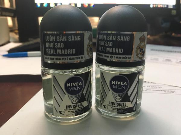 1 Chai Lăn khử mùi Nivea nam 12ml