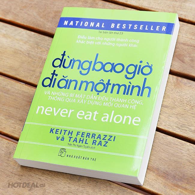 Mua Đừng Bao Giờ Đi Ăn Một Mình + Tặng kèm Bookmark