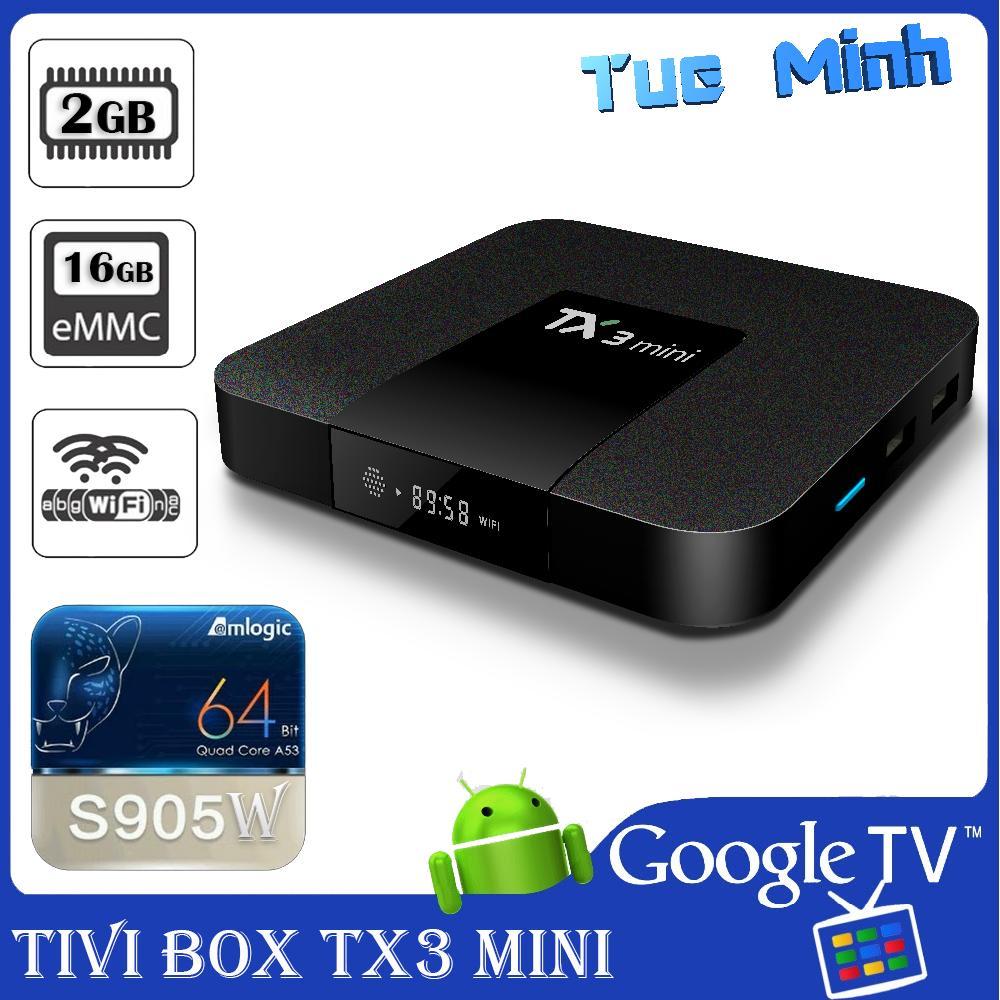 Hình ảnh Android TV Box TX3 mini phiên bản 2G Ram và 16G bộ nhớ trong