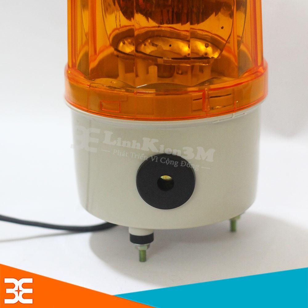 Hình ảnh Đèn Xoay Cảnh Báo Twiss Có Còi LTE- 1101J 220VAC