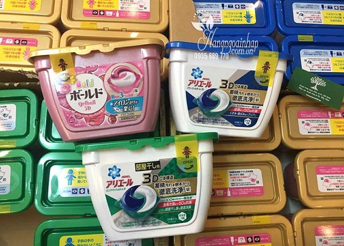 Thùng 6 hộp Viên giặt 3d Ariel - Gel ball Cao cấp Nhập khẩu nguyên hộp từ Nhật