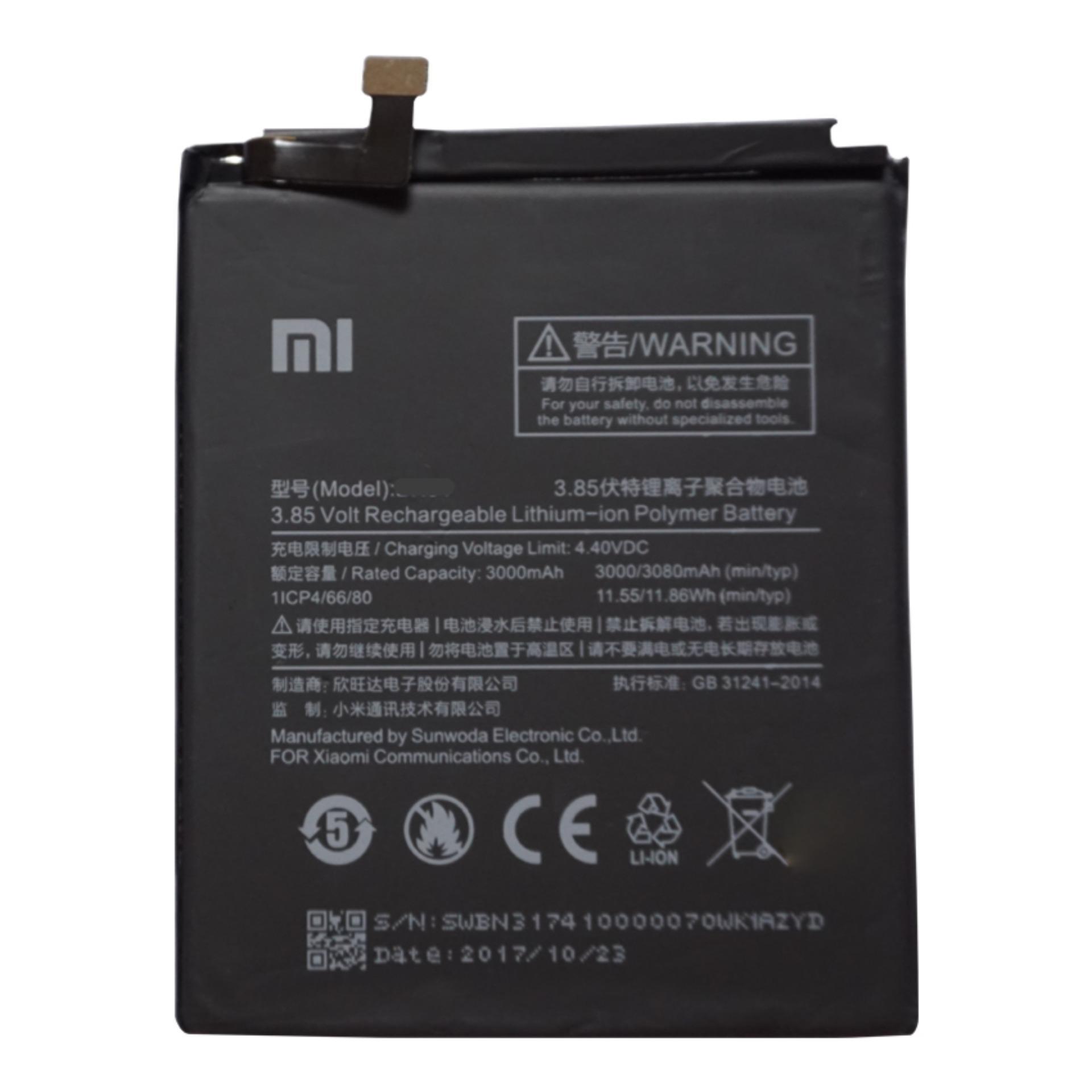 Pin Cho Xiaomi Redmi Note 5A Dung Lượng 3080mAh (Đen) Giá Tốt Không Nên Bỏ Qua