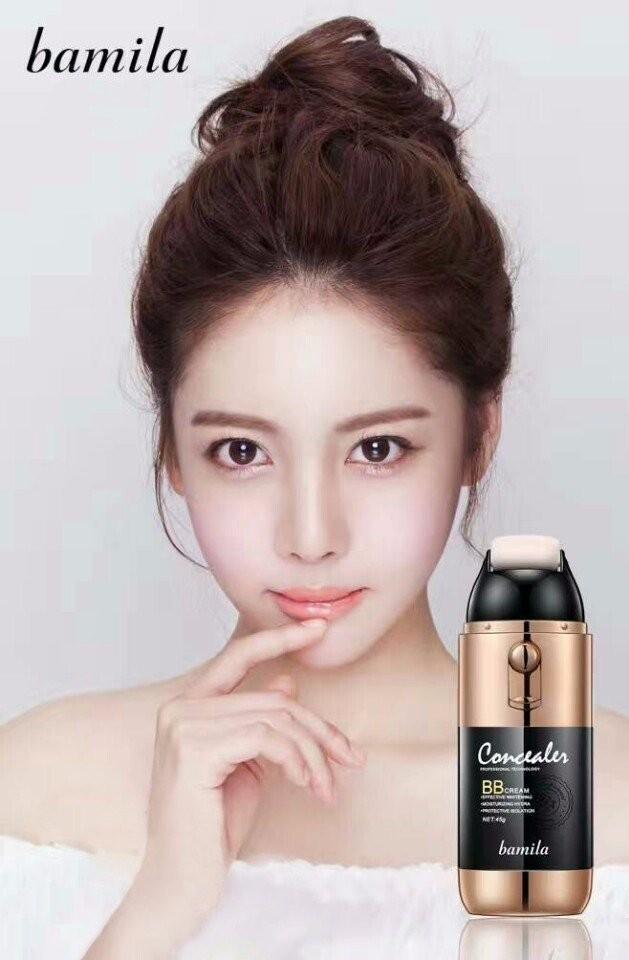 Kem nền trang điểm dạng lăn Bamila dùng siêu mịn - che khuyết điểm , hàng Hàn Quốc tốt nhất