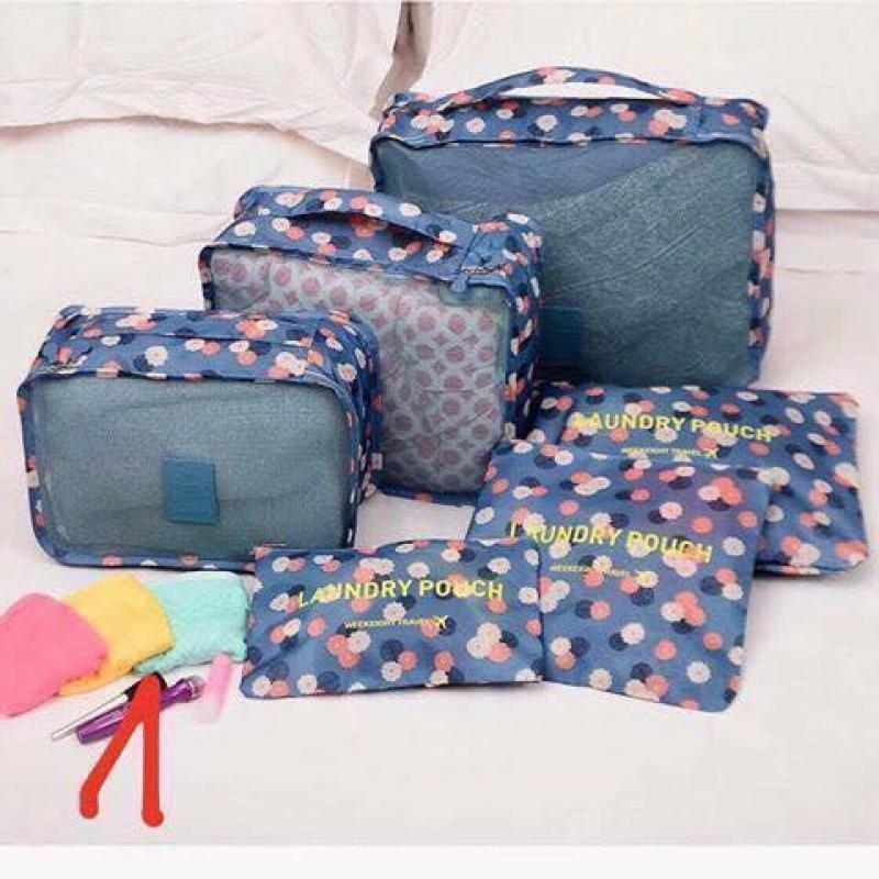 Set 6 túi đựng đồ cho vali du lịch