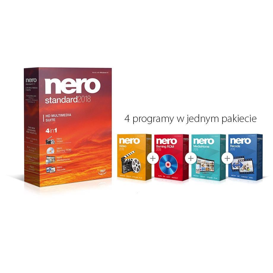 Hình ảnh Phần mềm Nero Standard 2018 HD Multimedia Suite bản quyền cực uy tín