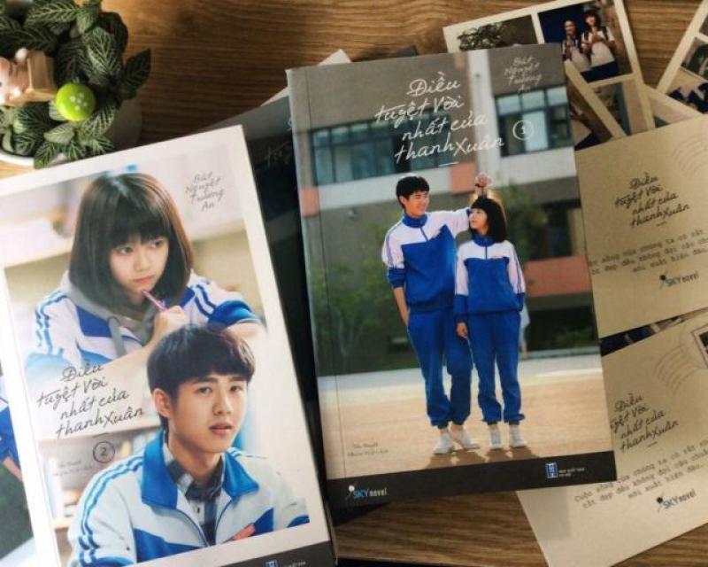 Mua Combo Điều Tuyệt Vời Nhất Của Thanh Xuân + Tặng kèm Bookmark