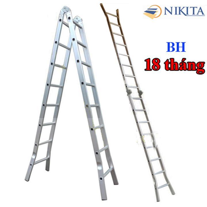 Thang nhôm chữ A 6,0m Nikita  NIK-30 Nhật Bản NIK-30