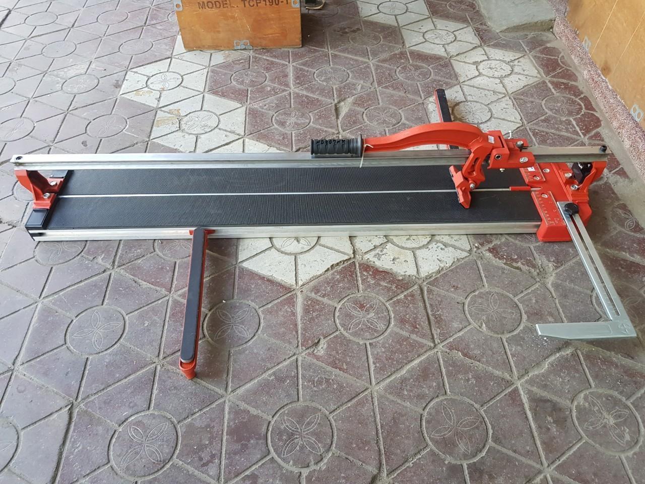 Máy cắt gạch bàn đẩy tay dài 100cm - 1 gióng