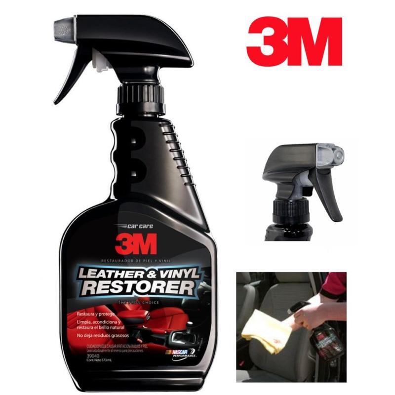 Chất Bảo Dưỡng,Chăm Sóc Da,Nhựa và Nội Thất Xe Ôtô - 3M 39040 Leather & Vinyl Restorer