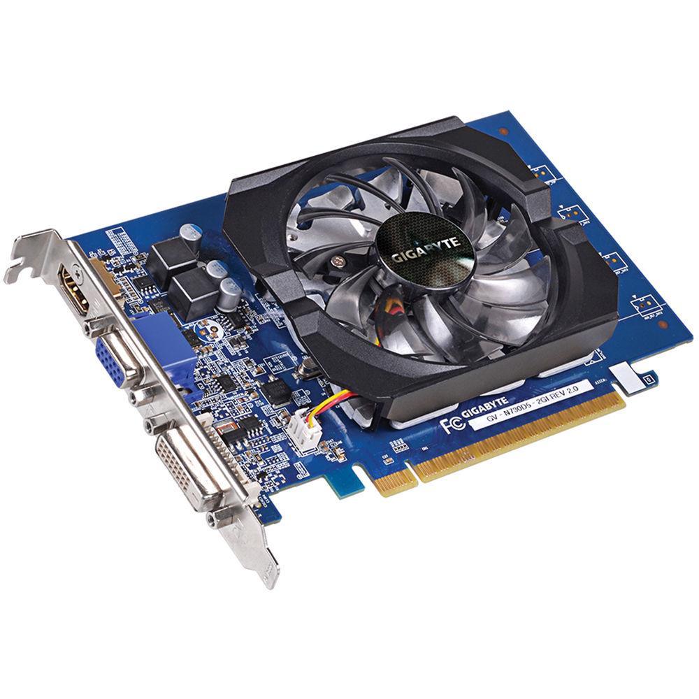 Hình ảnh VGA GIGABYTE GV-N 730 D5-2GI (GEFORCE GT 730)