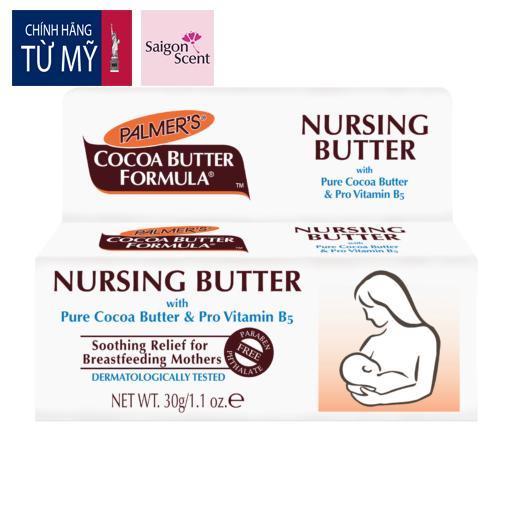 Kem Ngăn Ngừa Nứt Nẻ Và Giảm Đau Đầu Ti Khi Cho Con Bú Palmer's Nursing Butter (30g) tốt nhất