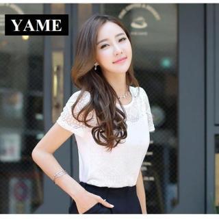 Áo Nữ Kiểu Hàn Vải Voan Cát Chất Đẹp YAME SVN312 thumbnail